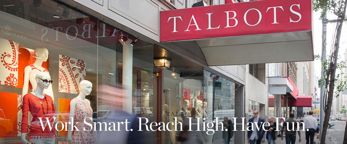 Talbots Talent Portal Landing Page